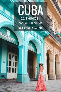 22 Tips to Make Sure Your Trip to Cuba is NOT a Disaster A how to travel guide on Cuba, tips to know before you go. Find out how to avoid the BIGGEST SCAM there, how not get sick, and get the best views of Havana. Belize, Travel Guides, Travel Tips, Nice Travel, Funny Travel, Travel Style, Puerto Rico, Places To Travel, Travel Destinations