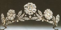 Strathmore Rose Tiara. Lady Elizabeth Bowes-Lyon (the future Queen Elizabeth, the Queen Mother) received it as a gift from her father, the Earl of Strathmore, for her wedding in 1923.