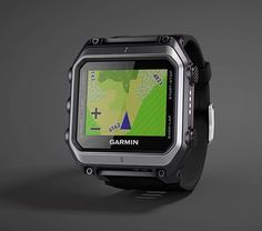 Garmin epix - The epix from Garmin is a tough, color touchscreen GPS watch with a 1.4-inch color display. Its omnidirectional built-in antenna works with both GPS and GLONASS satellites & the epix also features a built-in altimeter and three-axis electronic compass. | werd.com