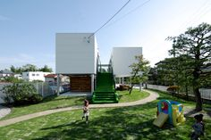 Playful KKF House with Golf Alley by Number Fives