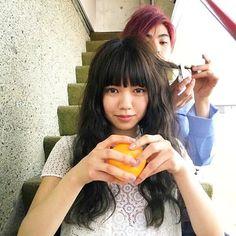 おはふみちゃん!今朝はふみちゃんをセレクトこの写真好き。かわいい女の子が好きなんだ。#二階堂ふみ  #村上虹郎