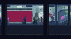Metro created by kirokaze