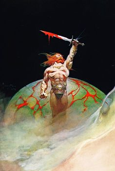 Cap'n's Comics: Bloodstone by Frank Frazetta