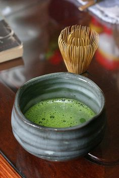 Went to my first tea ceremony yesterday, and the matcha was great!