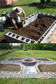 28 Best DIY raised bed gardens: easy tutorials, ideas  designs to build raised beds or vegetable  flower garden box planters with inexpensive materials! - A Piece of Rainbow  #backyard #gardens #gardening backyard, landscaping, gardening tips, #urbangardening #gardendesign #gardenideas #containergardening  #DIY #homestead homesteading #gardeningtips  #woodworkingprojects #woodworkingplans