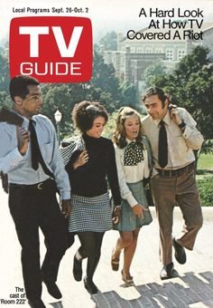 TV Guide September 26, 1970 - Lloyd Haynes, Denise Nicholad, Karen Valentine and Michael Constantine of Room 222