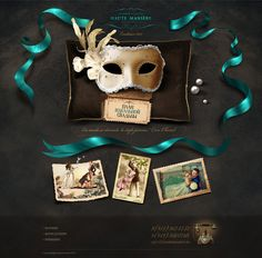I love this!  Excellent web design for a great wedding story.