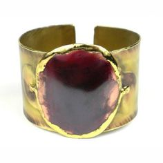 Handcrafted By Stamp Copper Puddle Brass Cuff - Brass Images. Handcrafted by South African artisans, . Copper Cuff, Copper Jewelry, Homemade Bracelets, Bracelet Display, Fair Trade Jewelry, Stylish Jewelry, Fashion Jewelry, Unique Jewelry, Bangle Set
