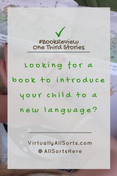 Looking for a book that introduces your child to a new language?  Then read my review of One Third Stories.  It's a learning adventure! My Children, Kids, Learn A New Language, My Passion, Creative Writing, How To Introduce Yourself, Third, About Me Blog, Parenting