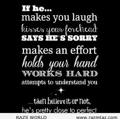 IF HE MAKES YOU .... - http://www.razmtaz.com/if-he-makes-you/