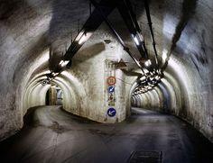West German Army supply depot in an underground... - 47