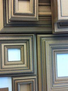 Corrugated Cardboard Frames, para hacer un corcho grande :D
