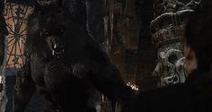 Van Helsing as a werewolf.