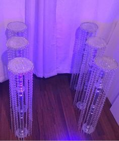 6 Set Chandelier Centerpiece/Aisle decorations – E Chandelier Centerpiece, Crystal Centerpieces, Tall Wedding Centerpieces, Wood Chandelier, Flower Centerpieces, Wedding Decorations, Aisle Decorations, Chandelier Wedding, Wedding Crafts