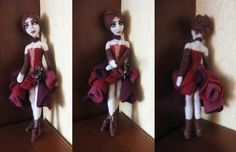 Felt doll by AnnikeAndrews