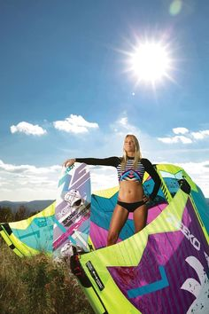 For your kitesurfing apparel, try our rashguards and surf leggings! Visit our website!