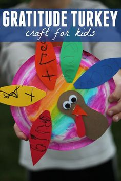 Gratitude Turkey - A great way for the youngest learners to show their gratefulness this November during the Thanksgiving season.