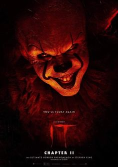 ✅ Download IT Chapter Two Movie 2019 Dual Audio (Hindi-English) 720p & 480p & 1080p. This is a dual audio movie and available in 720p & 480p qualities. This movie is based on Horror, Thriller. This is the second part of IT, if you haven't watched IT chapter one CLICK HERE. This movie is available in Hindi Dual Audio. Click on the Download button below to download this movie. Download Now Link in Below.👇 Two Movies, 2 Movie, Movies 2019, Scary Movies, Horror Movies, Movies To Watch, Movies And Tv Shows, Horror Music, Movie Times