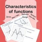 Functions are frequently tested on state tests, but I find that textbooks don't do a thorough job of covering this topic.   This is a PDF file that...