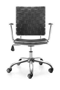 Crisscross Black Office Chair by Zuo Modern on @HauteLook