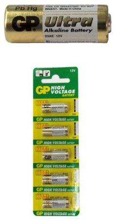 Gp23a 12v Alarm Remote Alkaline Batteries Carded