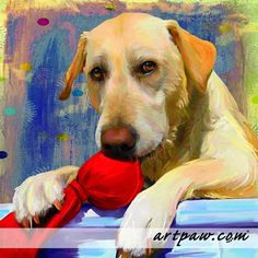 Dogs In Art - A Painting Of Your Dog Is Better Than A Pic