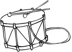 drum coloring page free drum template or coloring page music instrumentsyahoo