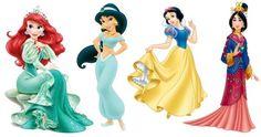 PNG Download: Pacote com 44 Imagens das Princesas Disney em PNG em alta definição com fundo transparente