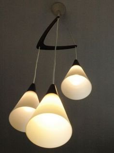 Glass-Teak-mid-century-chandelier-Danish-design-Holmegaard-lamp-light