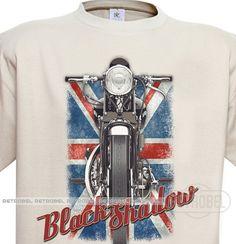Men's t-shirt Vintage mens T-shirt Vincent Black