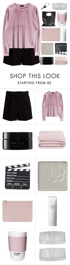 """""""SHE PUT HIS HEART IN A BAG"""" by constellation-s ❤ liked on Polyvore featuring Valentino, arbÅ«, Frette, Anna Sui, Alexander McQueen, Shiseido, Cheap Monday, ROOM COPENHAGEN, John Lewis and Maison Margiela"""