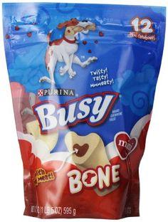 20% cut off Busy Bone Mini Chew Bones 21oz - Pouch