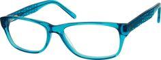 BlueAcetate Full-Rim Frame with Spring Hinges