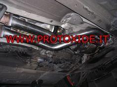 Sost.kat Bmw E46 solo tubo al prezzo di 423,47 € Euro.  Sost.kat doppio a ricambio originale.