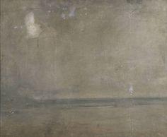 "Joseph Mallord William Turner ""A Seashore"" abstract painting. via Tate http://www.tate.org.uk/art/artworks/turner-a-seashore-n05524"