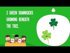1. I would use these songs close to St. Patrick's day to talk about the Irish culture and how they celebrate.