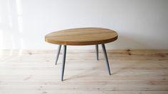 Coffee Table Scandinavian Grey Oak by projekt drewno made in Polandop CROWDYHOUSE