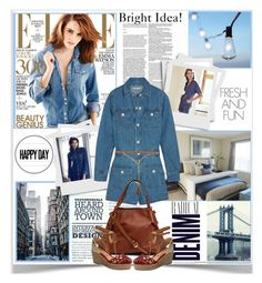 """Denim Look of the Day"" by sweetdee55 ❤ liked on Polyvore"