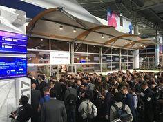 Der Mobile World Congress zog auch in 2017 wieder über hunderttausenden Besucher nach Barcelona.