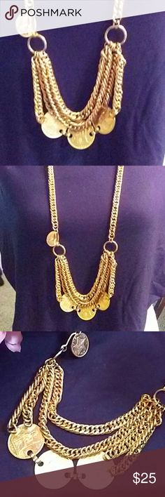 🌸Beautiful Vintage Coin Necklace Another beautiful vintage piece. Accessories