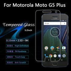 "for Motorola Moto G5 Plus /XT1687 5.2"" Tempered Glass Screen Protector Film for Motorola Moto G5 5"" glass Protective Film"