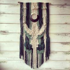 Bronce #macrame #weaving www.ranrandesign.com by Belen Senra