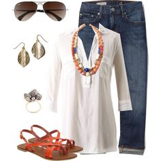 Summer Casual by stephfaye on Polyvore