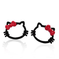 hello kitty earrings - http://zzkko.com/n119154-an-Guoguan-network-purchasing-super-cute-hello-kitty-cat-head-earrings-(two-color-options).html $4.33