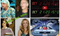 """Today (October 21, 2015) is the Day 'Back to the Future 2' Predicted in its Movie (2 Videos + Then-and-Now Photos of the Cast) In the 1989 movie, 'Back to the Future Part II', Michael J Fox's Marty McFly and Christopher Lloyd's Doc Brown travelled, well, to the future – October 21, 2015. On October 26, 1985, Dr. Emmett """"Doc"""" Brown arrives in his flying DeLorean time machine and persuades Marty McFly and his girlfriend, Jennifer Parker, to come back to..."""