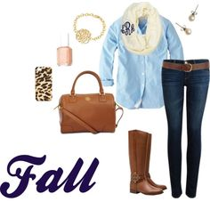 fall, created by classy-and-preppy on Polyvore