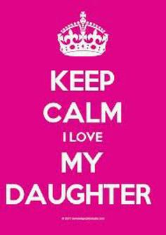 Love my daughter!