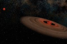 There is a peculiar system 1,600 light-years from our solar system. It is composed of two brown dwarfs, massive objects too big to be planets and too ...