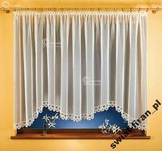 Dalmacja (S) - Świat Firan Valance Curtains, Kitchen, Home Decor, Houses, Cooking, Decoration Home, Room Decor, Kitchens, Cuisine