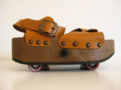 Omnia'c Roller Skate Sandals Italy by TheCottageCheese